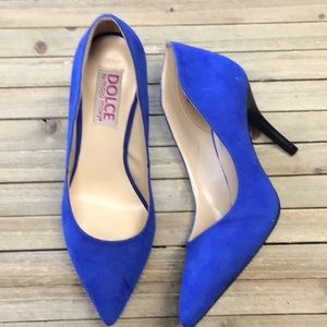 New in box Dolce Vita blue pumps us 6